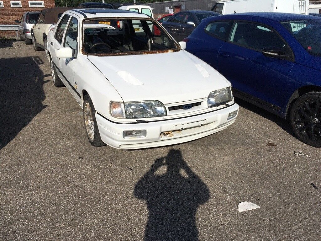 1990 Ford Sierra Sapphire Cosworth 4x4 White | in Ellesmere Port, Cheshire  | Gumtree