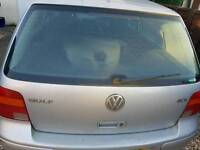 Vw golf mk4 tailgate in silver £40 complete