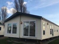 3 bedroom Lodge for sale. Naze Marine Holiday Park. Walton. Essex.