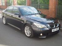 NOV 2006 BMW 535D M SPORT TWIN TURBO LONG MOT FSH NOT AUDI MERCEDES JAGUAR EVO M3 IMPREZA M5 JEEP
