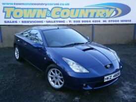 ***2002 Toyota Celica VVTI **SUPERB SERVICE HISTORY*SAME OWNER FROM 2008