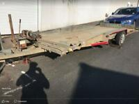 Car Bateson tilt trailer