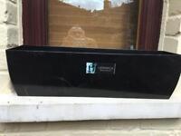 3 Windowsill luxury plastic planter
