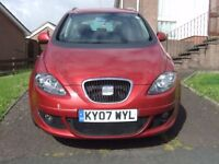 2007 Seat Altea stylance 140hpb with 6 month mot left on it drives 100% !!!!!!!!!!!!!!!!