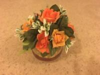 China pot with Flower Posy