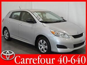 2012 Toyota Matrix 1.8L Gr.Electrique+Air+Demarreur a Distance
