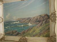 Beautiful Seascape by Listed Artist