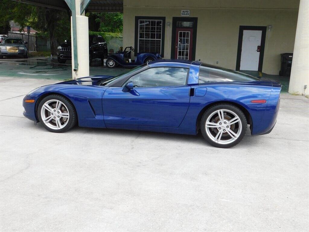 2005 Blue Chevrolet Corvette   | C6 Corvette Photo 4
