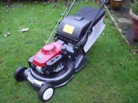 "Honda HRD536 QXEH, 21"" Self Propelled Lawnmower. 2013 Refurbed, £400Spent!"