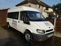 2002 Ford Transit 15 seat Minibus