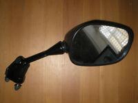 Original equipment Kawasaki ZX right side mirror 1613-061