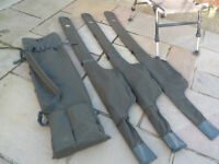 Carp tackle - Rod quiver & chair
