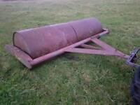 Tractor land field grass roller water filled new bearings fitted