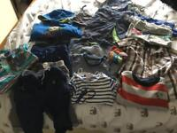 Baby boy clothes 6-8, 9-12mths