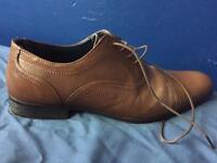 Men's brown shoes-size 7