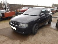 2001 Audi A3 8L 1.9 TDI 2 door Blue BREAKING FOR PARTS SPARES