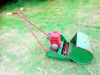 Petrol Lawnmower Traditional Stripes Self-Propelled Serviced Suffolk Dual Drive