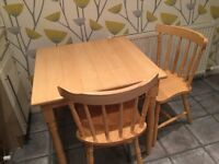 Kitchen table and 2 tables