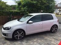 Golf GTD TDI white 71000miles
