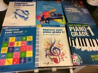 Piano Grade 1 books for sale!