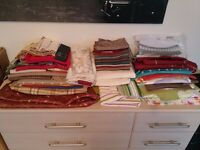 Loads of fabric remnants - various sizes, colours, designs.