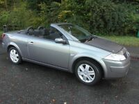 RENAULT MEGANE CONVERTABLE PRIVATE PLATE GOOD CONDITION 55 LOW MILEAGE
