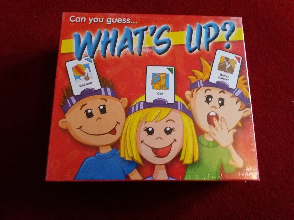 WHATS UP CARD GAME 5+