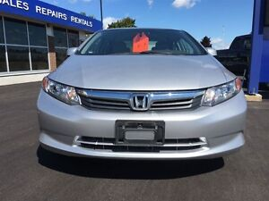 2012 Honda Civic LX/ CAR-PROOF ATTACHED/ LOW MILEAGE