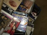 650 CDs Various Genre's