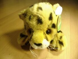 LEOPARD - Genuine Jungle club soft toy - REDUCED