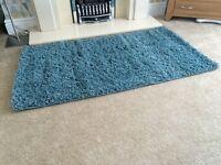 Brand New Light Teal (green/blue) Shaggy Rug 80x150cm