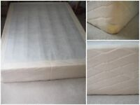 double bed base and head board