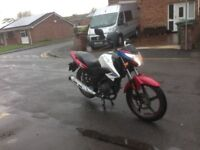 Sinnis js 125 2015 low mileage