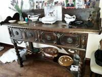 Antique Server side table