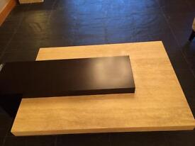 Italian Marble Wood Coffee Table