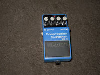 BOSS CS-3 Compression/Sustainer guitar pedal