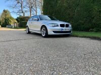 BMW 1 Series 1.6 116i ES 3dr Manual Petrol In Silver - Service History - Mot Until April 2022