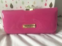 Brand New Gorgeous Black Patent Ted Baker purse with clasp