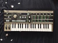 MICRO KORG synthesiser/vocoder very clean working great