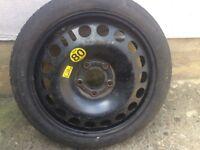 Vauxhall Astra H Mk5 115/70/16 Space saver spare wheel