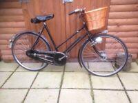3b2aa4d2e99 Vintage ladies bicycle (triumph) for sale. ( original ) condition .