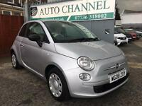Fiat 500 1.2 Pop 3dr£3,275 p/x welcome FREE 6 MONTHS WARRANTY.NEW MOT