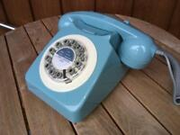 Wild and Wolf Retro 746 Telephone   French Blue
