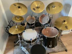 Pearl Jet black drum kit !