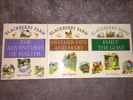 Great condition set of 10 hardback Jane pilgrim blackberry farm books