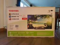 "Toshiba 49"" Ultra HD 4K Smart TV (Unopened)"