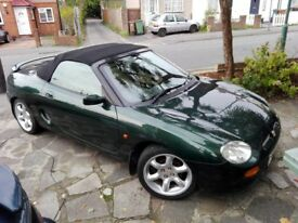 MGF 1.8 VVC British racing green