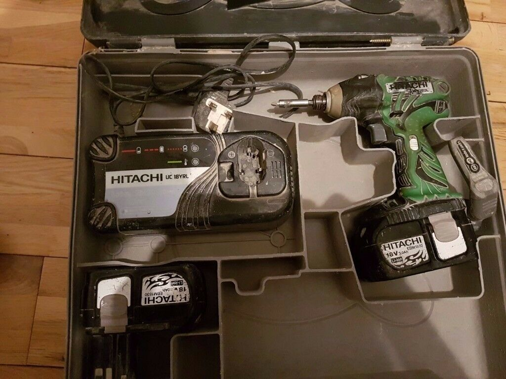 Hitachi WH 18DL 18V Impact Drill