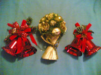 Selection of Large Christmas Decorations (see details for pricing)