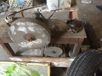Electrical grinder with stand